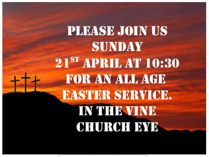 Easter 2019 Poster jpeg